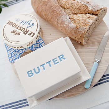 Ceramic 'Butter' Dish