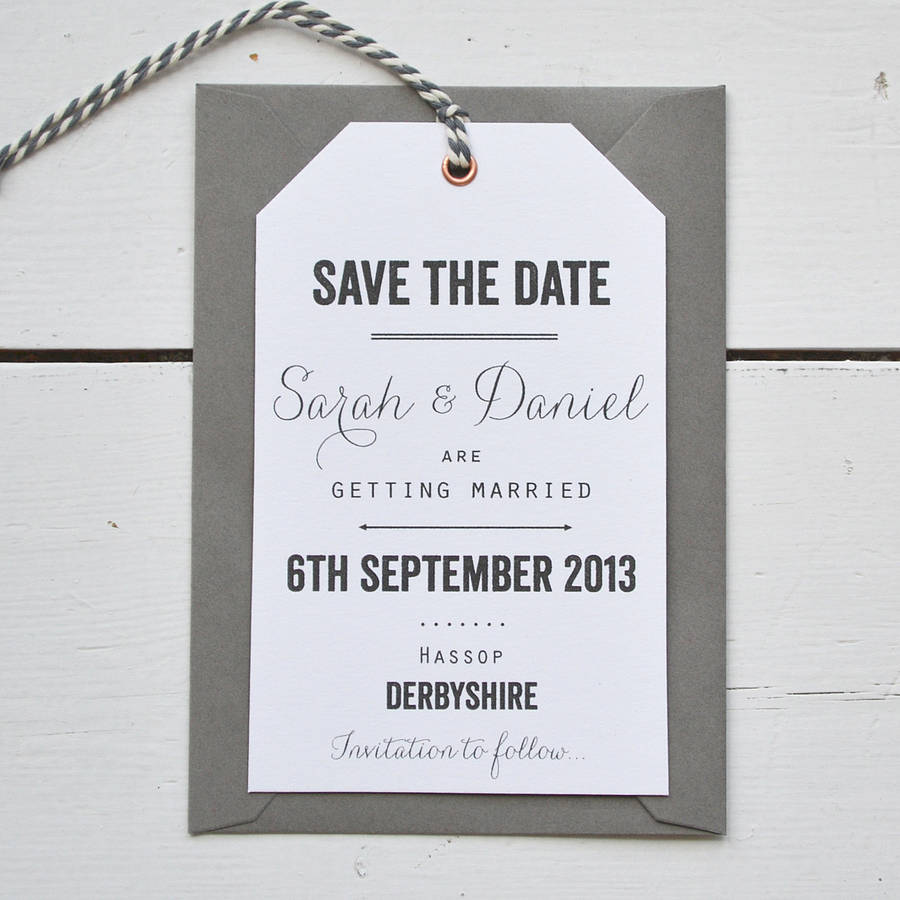 Tag Wedding Save The Date By Lucy Says I Do