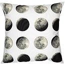 Lunar Moon Cycle Cushion Cover