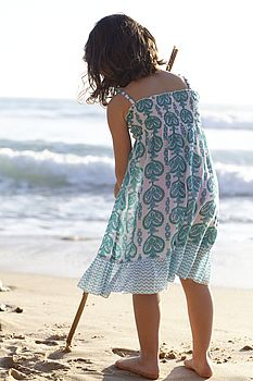 Cotton Smocked Sundress