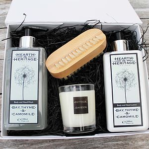 Gardeners Pamper Gift Set - bath & body