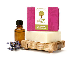 Lavender And Patchouli Soap - bath & body
