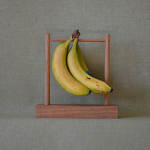 Monkey Bar Nana Personalised Oak Banana Stand