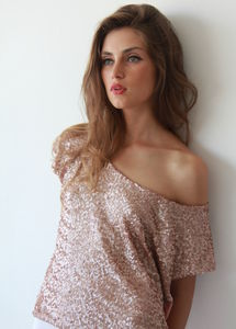 Classic Sequin Tops - cocktail hour