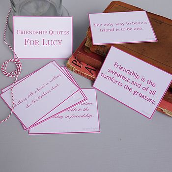 Friendship Quotes Gift