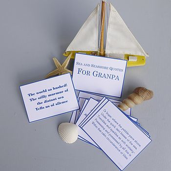 Personalised Sea And Seashore Quotes