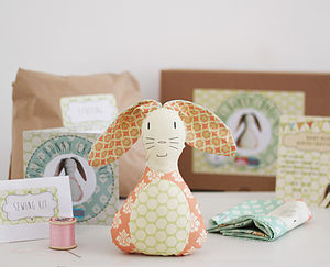 Baby Bunny Beginners Craft Kit - easter home