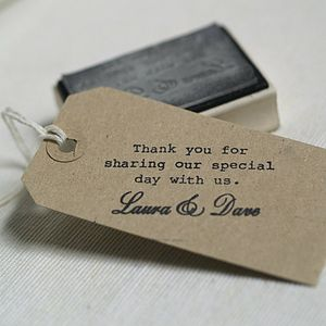 Your Message / Text Customised Rubber Stamp - create & make