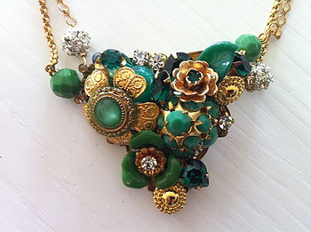 Handmade Encrusted Necklace