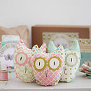 Three Hooting Owls Beginners Craft Kit