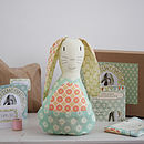 Thumb mummy bunny craft kit