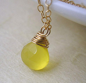 Limoncello Gemstone Necklace