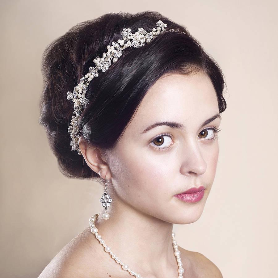Headpieces For Wedding: Handmade Anya Wedding Headpiece By Rosie Willett Designs