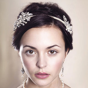 Handmade Astra Wedding Headpiece