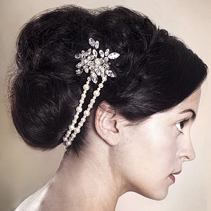 Handmade Brooke Wedding Hair Combs - bridal accessories