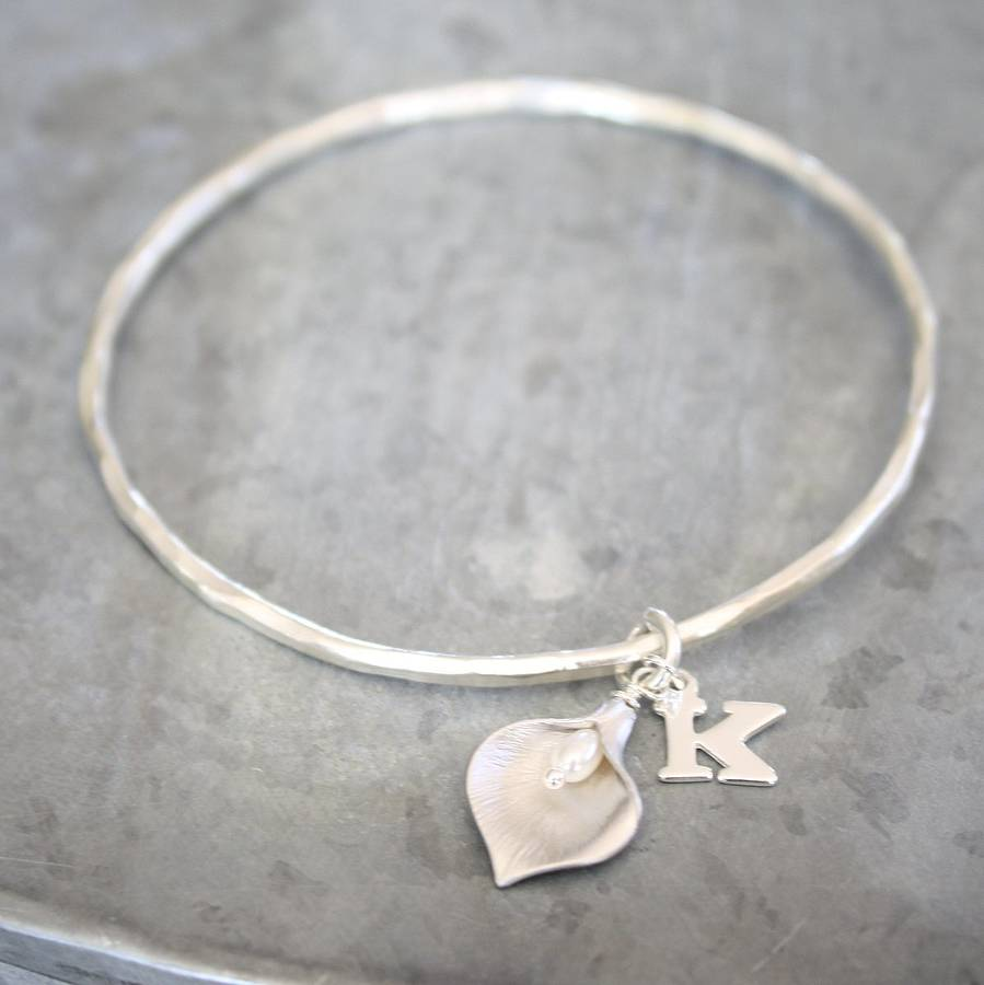 notonthehighstreet bangle heart original wrapped sterling wire q bangles silver com