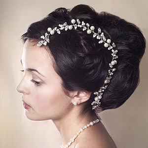 Handmade Bryony Wedding Hair Vine - bridal hairpieces