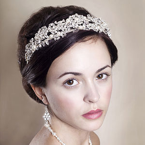 Handmade Daphne Wedding Tiara