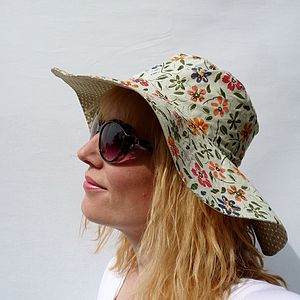Wide Brim Sun Hat - hats & hair accessories