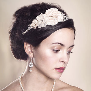 Handmade Marguerite Wedding Headpiece - wedding fashion