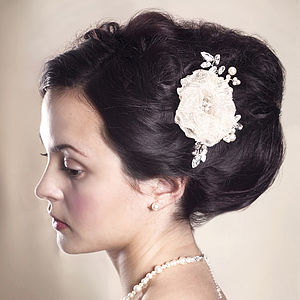 Handmade Melody Wedding Hair Comb - hats, hairpieces & hair clips