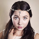 Handmade Rosaline Wedding Forehead Band