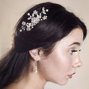 Handmade Rowan Wedding Hair Comb