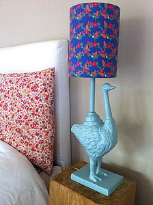 Ostrich Lamp - furnishings & fittings