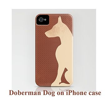 Doberman Dog On Phone Case