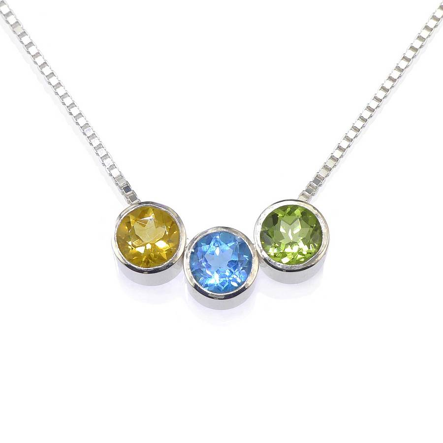 new birthstone slide jewelry necklace pendants silver additional