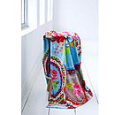 Floral Medallion Beach Towel By PiP Studio