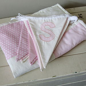 Baby Quilt With Matching Bunting - children's parties
