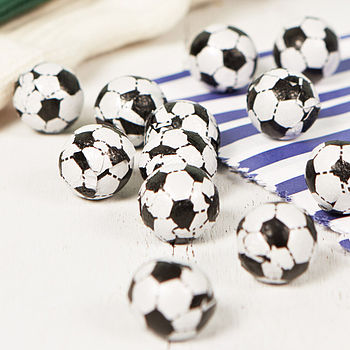 Father's Day Chocolate Footballs