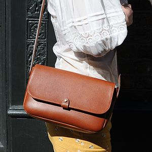 Rathbone Leather Satchel - handbags