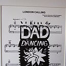 Personalised 'Dad Dancing' Sheet Music Poster