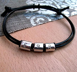 Love Heart Silver Scroll Bracelet - bracelets & bangles