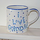 Personalised 'I Love Daddy' Mug