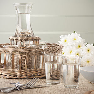 Glass Carafe Set