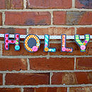 Personalised Name Banner Bunting Garland