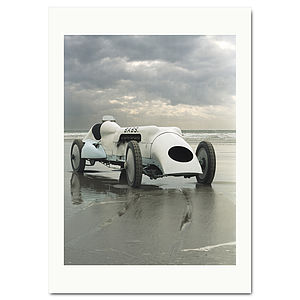 'Babs' Land Speed Record Car Print - home accessories
