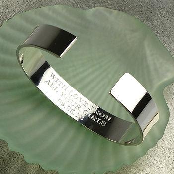 Mans silver bracelet