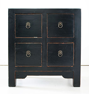 Small Chinese Chest Of Drawers - furniture