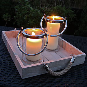Penzance Hurricane Lantern - outdoor lights