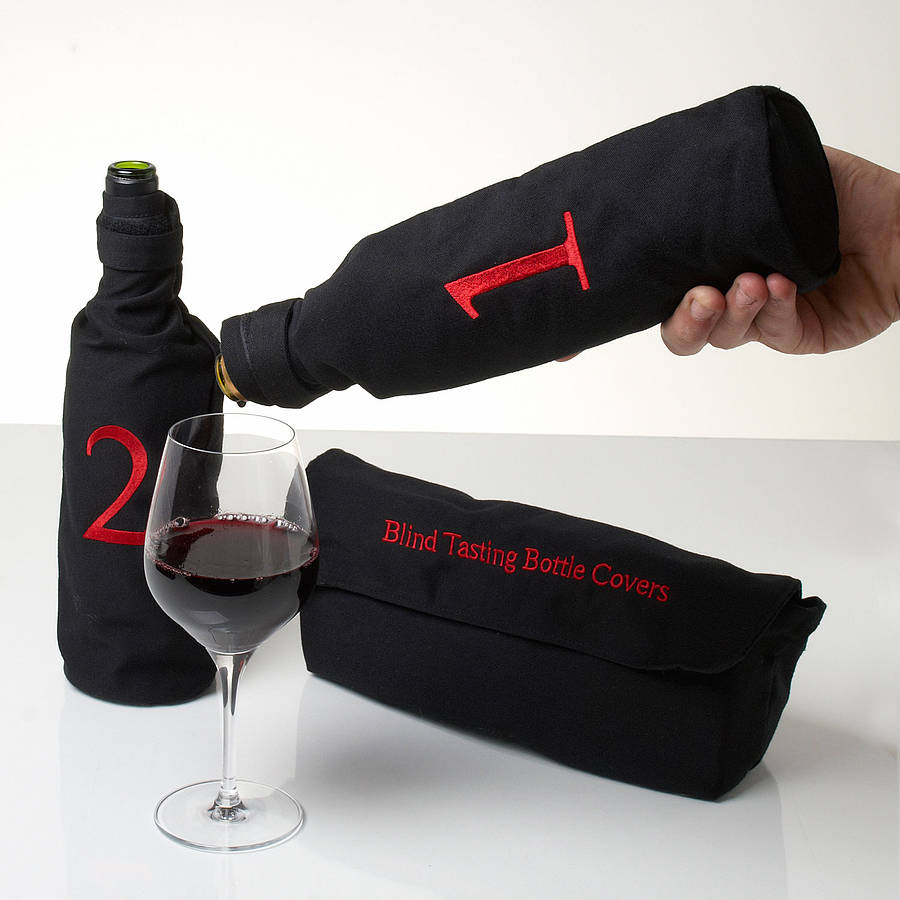 Blind Wine Tasting Bottle Covers By Whisk Hampers