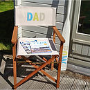 Dad Hardwood Director's Chair