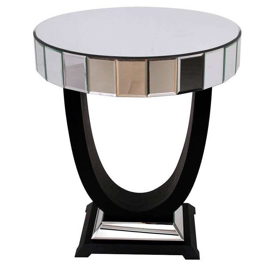 art deco side table by out there interiors. Black Bedroom Furniture Sets. Home Design Ideas