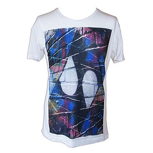 Men's Graffiti Wall T Shirt - t shirts and tops