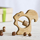 Organic Squirrel Baby Rattle