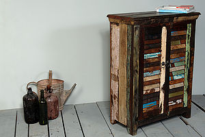 Mary Rose Upcycled Two Door Sideboard - furniture
