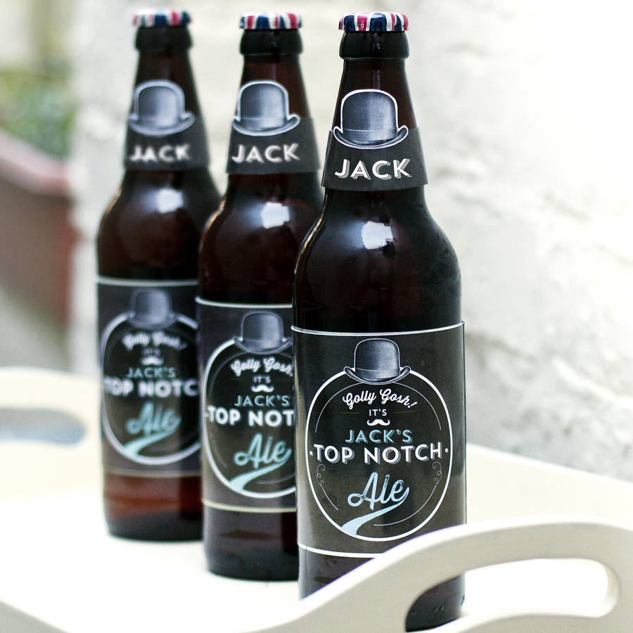 image regarding Printable Beer Labels named Personalized Printable Beer Labels